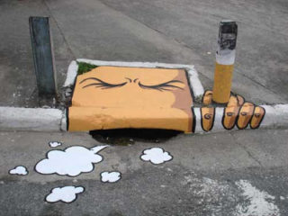 I despise smoking