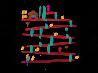 Abstract Donkey Kong Art