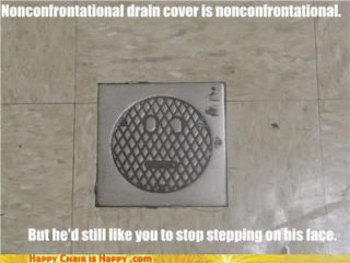 If Jenny were a drain cover...
