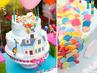 Love this UP themed birthday