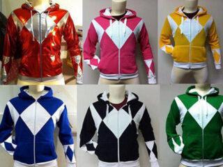 Power Rangers custom hoodies