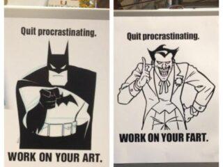 Quit procrastinating