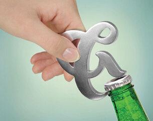 Ampersand Bottle Opener