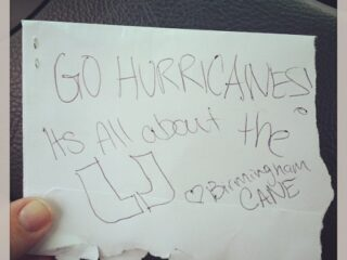Just came out of Publix and found this on my windshield. :D